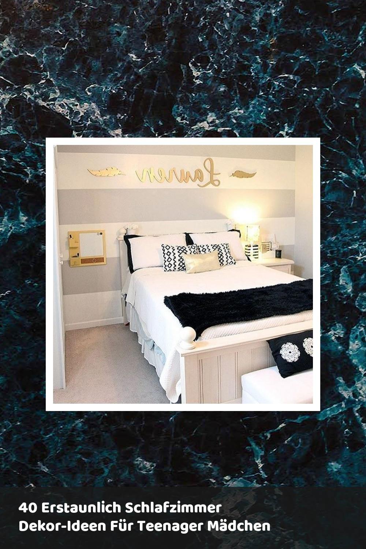 40 Erstaunlich Schlafzimmer Dekor Ideen Fur Teenager Madchen Schlafzimmer Dekor Ideen Zimmer Schlafzimmer Design