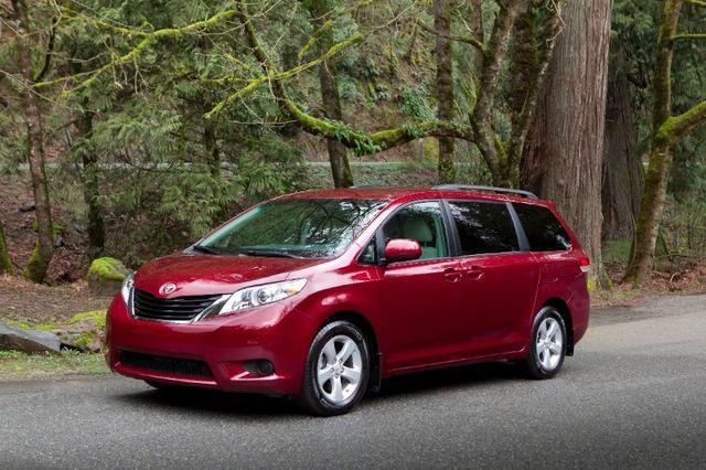 2012 Toyota Sienna Le Years Most Dependable Mini Van Mini Van
