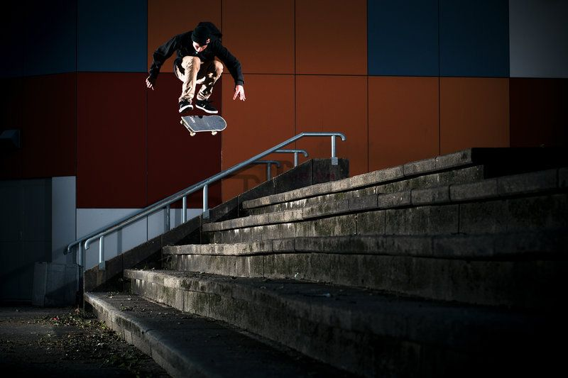 One step at a time. #redbull #givesyouwings