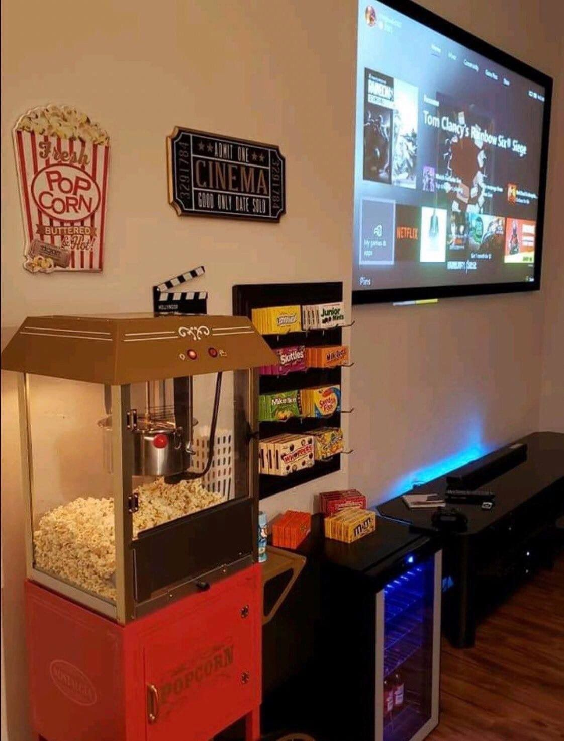 Living Room Movie Theater Set Up In 2020 Home Cinema Room Small Movie Room Movie Room Diy