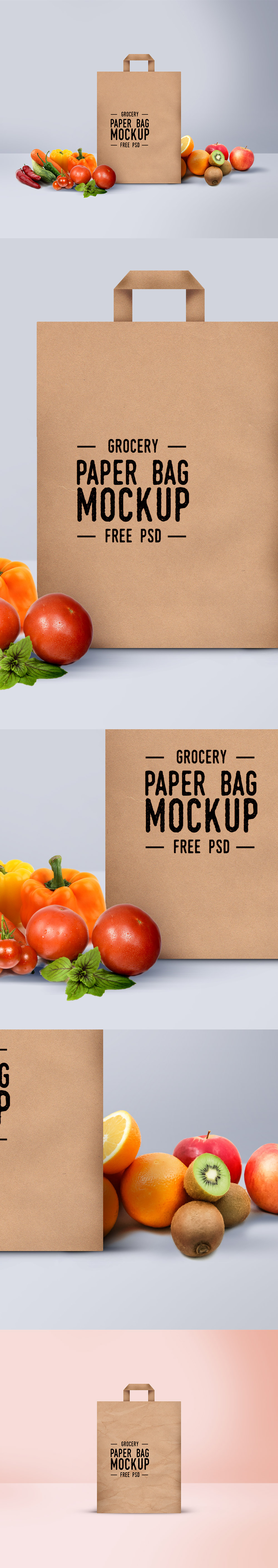 Free Shopping Paper Bag Mockup (16.1 MB) | Graphics Fuel | #free #photoshop…