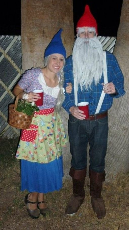 wanted to do this for a couple years but never get around to it. #halloweencostumesforadults #awesome #halloween #costumes #for #adults #gnomecostume