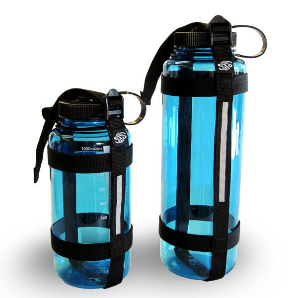 Minimal And Ultralight Water Bottle Holder Dual Reflective Panels