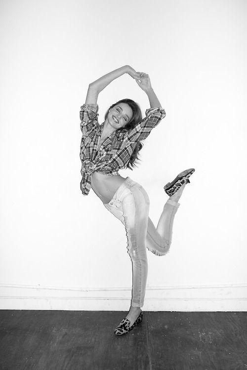 Miranda Kerr at my studio #5 by Terry Richardson