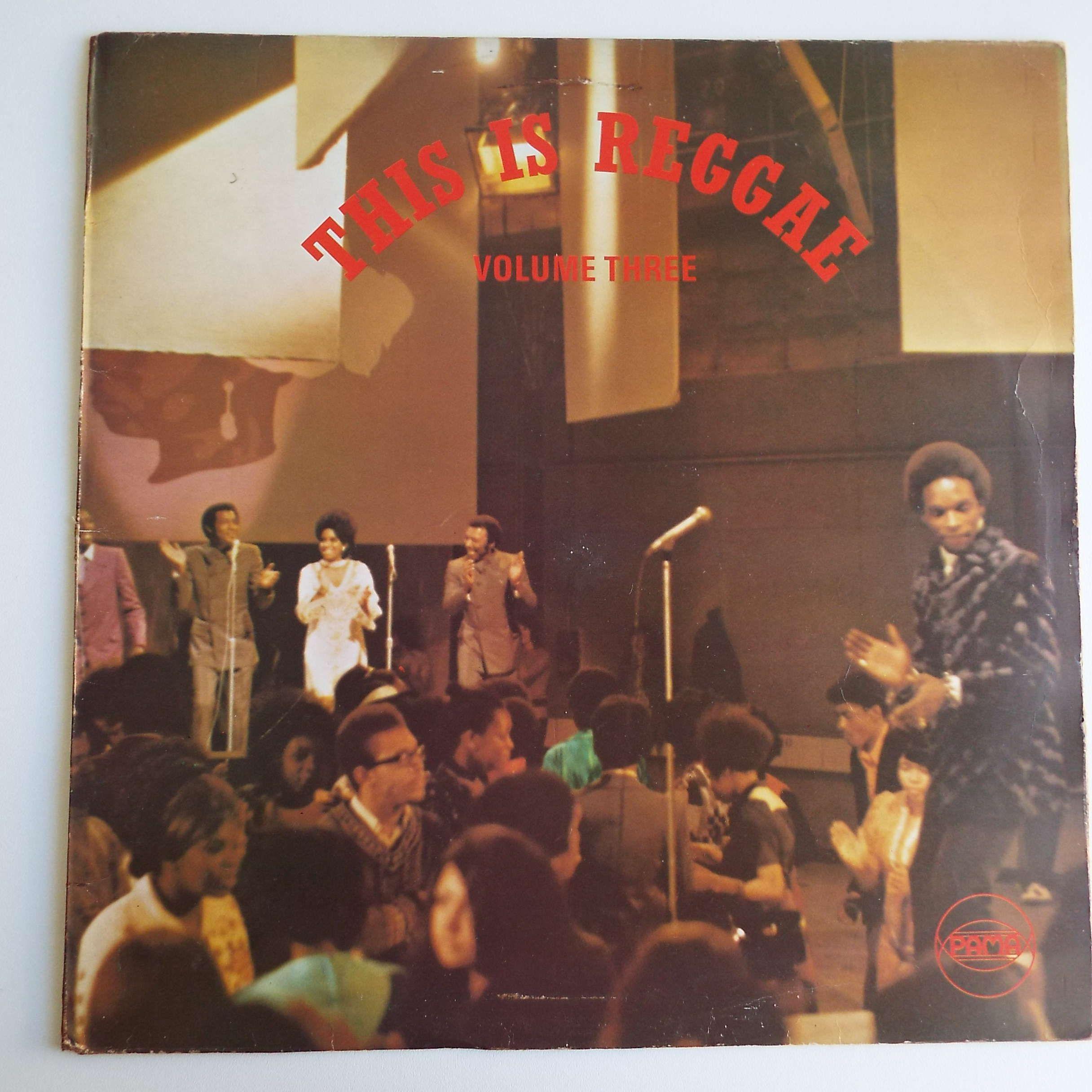 Rare Vintage 1970 This Is Reggae Vol 3 Lp Vinyl Record Orange Pama Label Reggae Ska Uk Pressing Vinyl Records Reggae Lp Vinyl