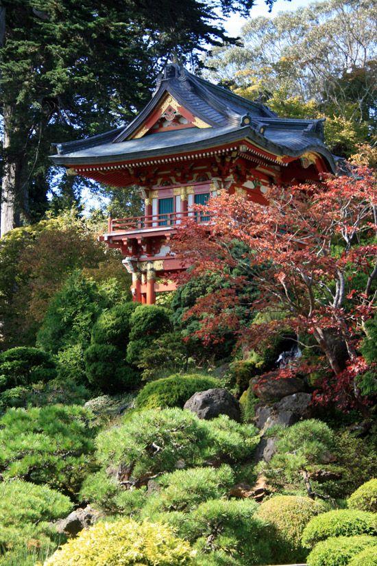 Japanese Tea Garden In Golden Gate Park San Fransisco Japanese Garden Tea Garden Asian Garden