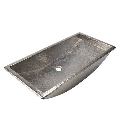Photo of Native Trails Trough Metal Rectangular Undermount Bathroom Sink | Perigold
