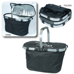 THE FANTASTIC FOLDING THERMO COOLER BASKET - GREAT FOR GROCERY SHOPPING & PICNICS