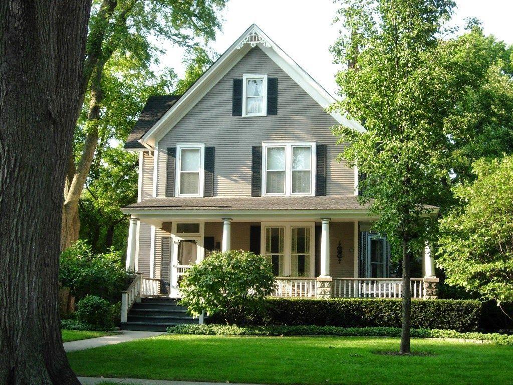contoh desain halaman rumah ala amerika   desain rumah ku