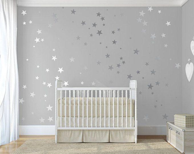 Étoiles or muraux pour la décoration de chambre d\'enfant ...