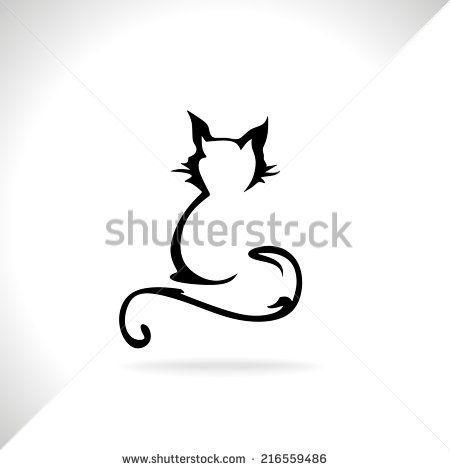 Katze Tattoo Stockfotos Katze Tattoo Stockfotografie Katze