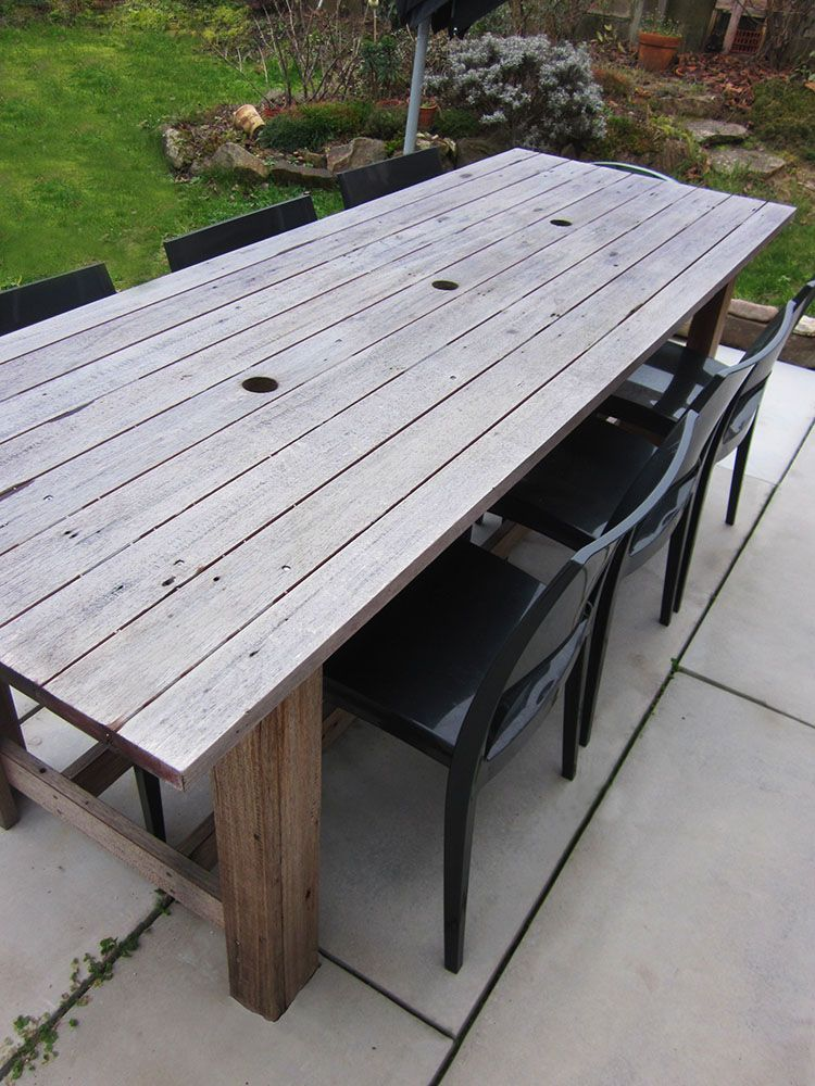 Stunning Fabriquer Une Table De Jardin Photos - House Design ...