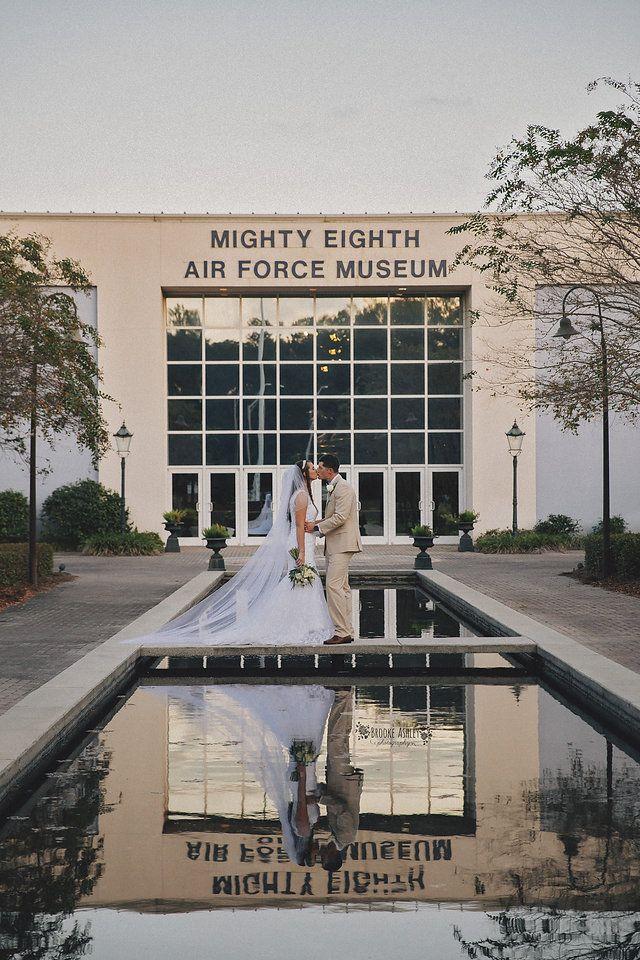Savannah Wedding Mighty Eighth Air Force Museum