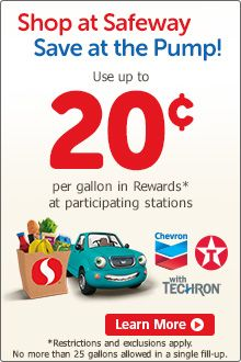 Earn Gas Reward Points At Safeway Click To Learn More Prospectus