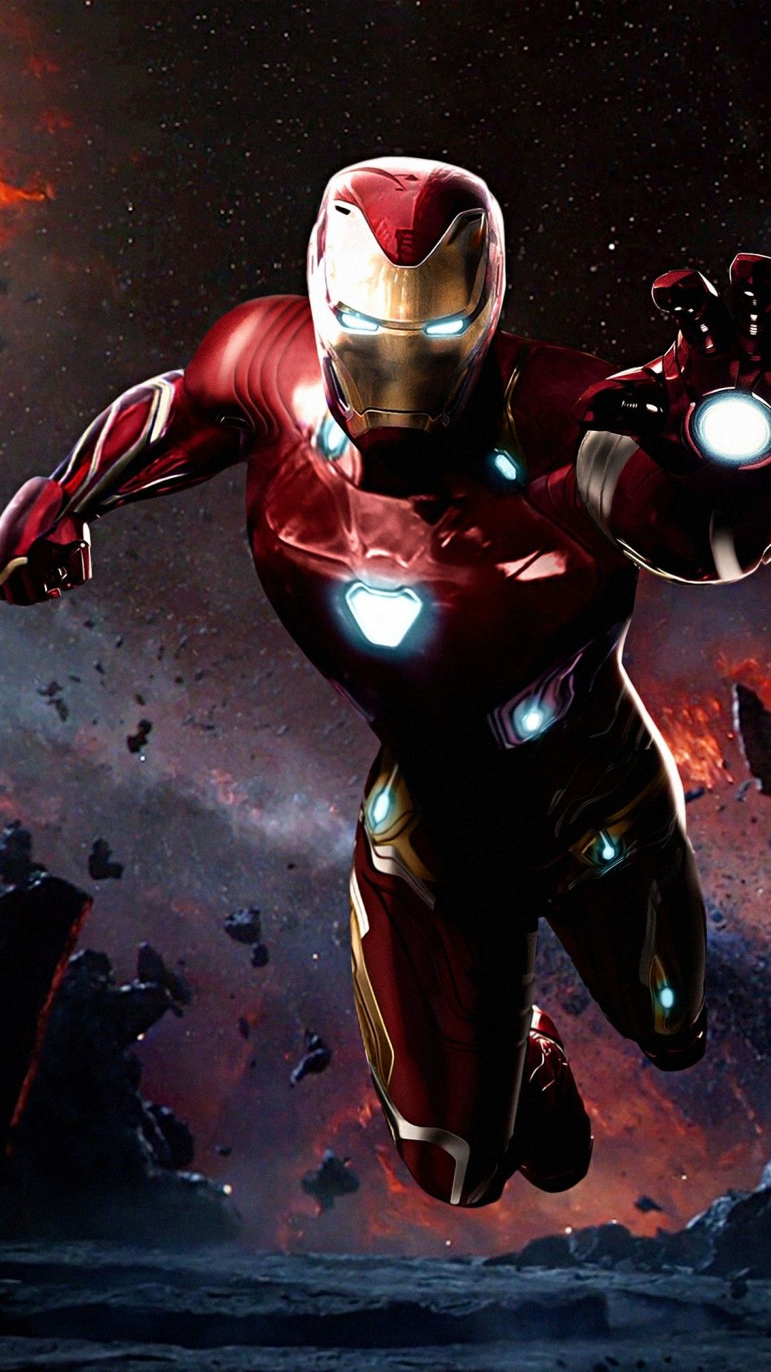 Free Iron Man Avengers Infinity War phone wallpaper by