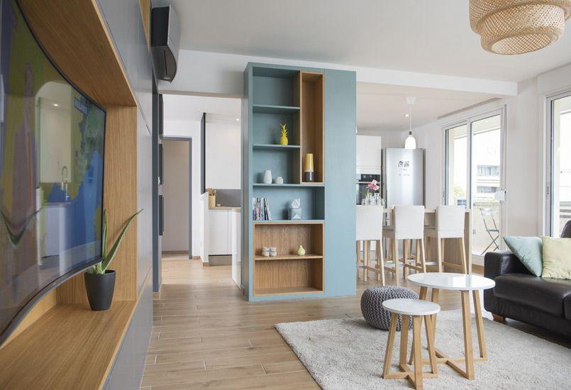 Un bain de lumière, aménagement, rénovation, appartement, lyon