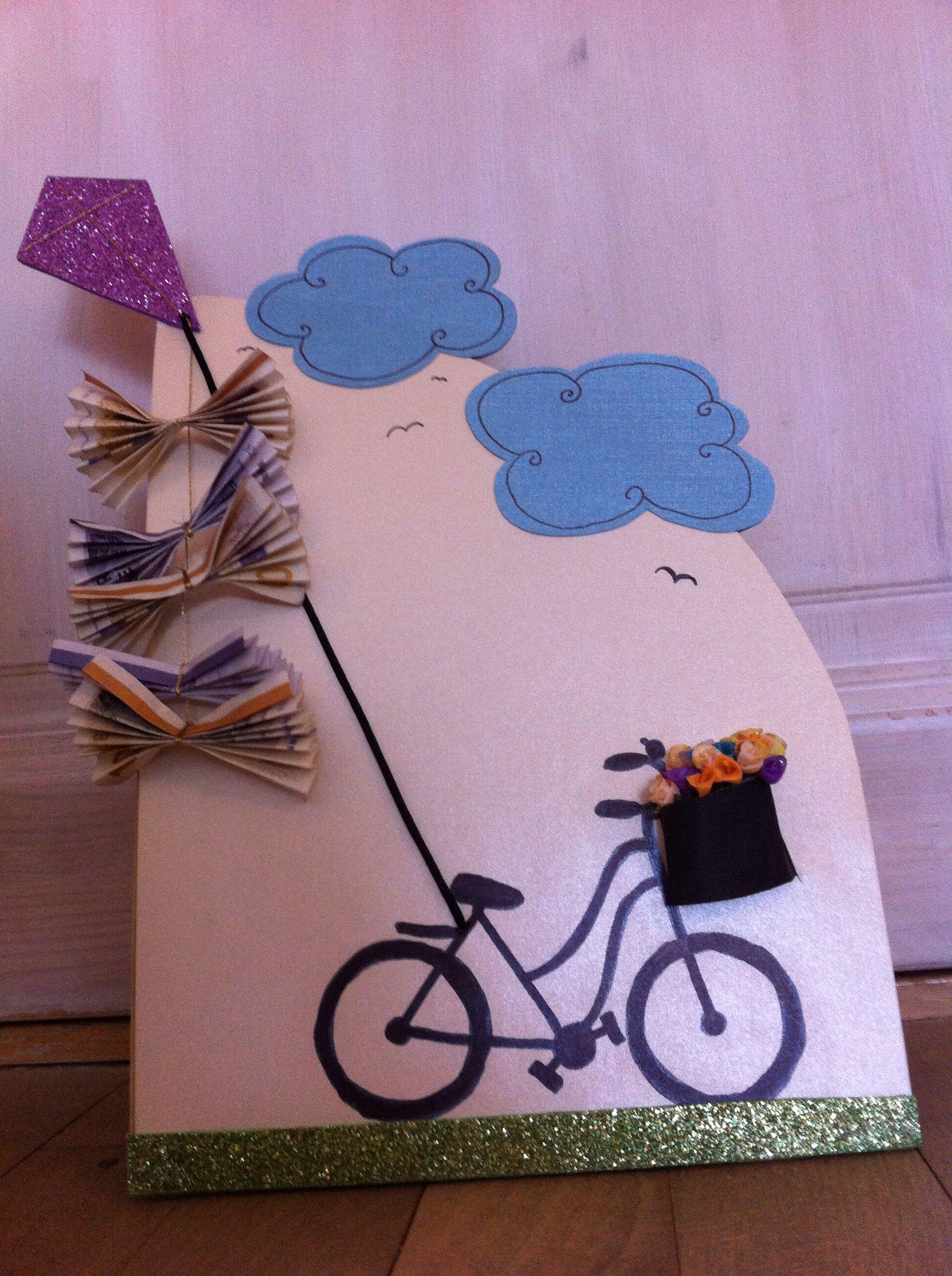 Bike Money Card Diy