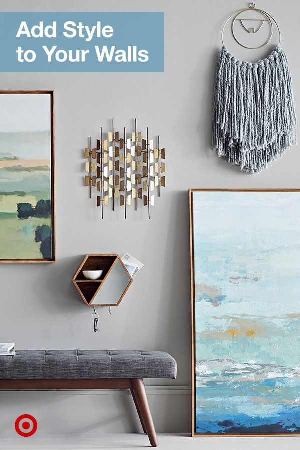 Create An Eye Catching Wall With Inspiring Mix And Match Wall Art