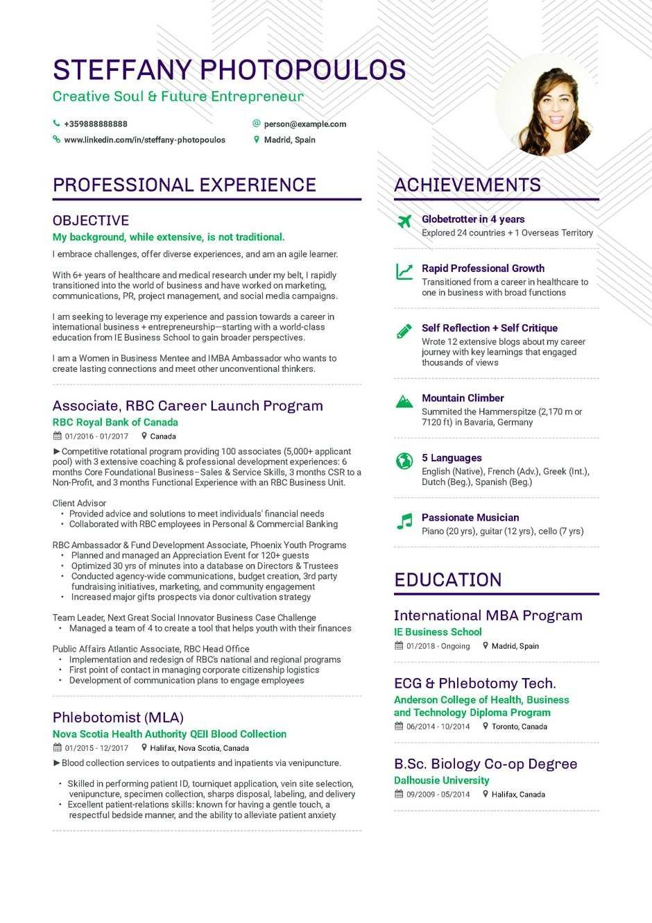 Resume Template 4 Singapore Seven Things You Need To Know