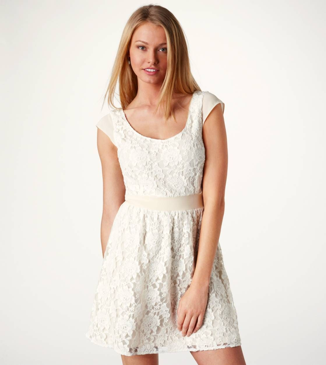 Clearance Dresses Skirts American Eagle Outfitters Lace Dress With Sleeves Lace Cutout Dress Lace White Dress