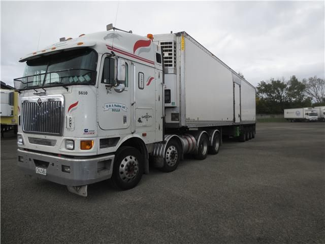 International 9800 Eagle 8x4 2008 | Trade Me | Trucks Old ...