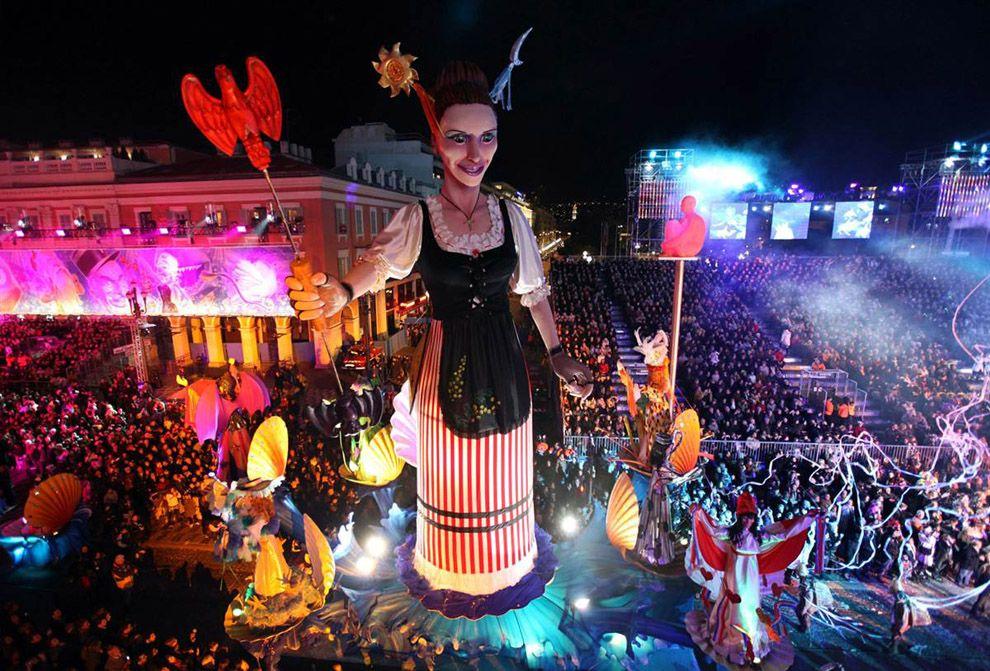карнавал в ницце Carnaval Fotos Mundo