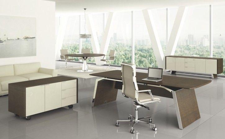 Sensational Meta Stunning Italian Executive Desk With Tobacco Oak Top Home Interior And Landscaping Ologienasavecom
