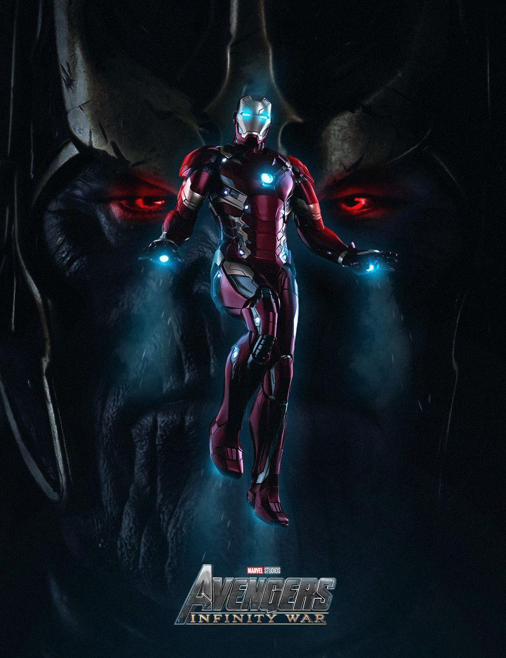 Artstation Avengers Infinity War Aiko Aiham Marvel Iron Man Iron Man Fan Art Marvel Facts