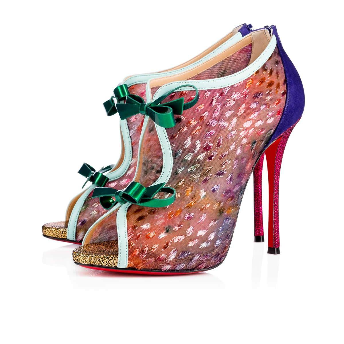 CHRISTIAN LOUBOUTIN Empiralta 120Mm Version Multi Lace. #christianlouboutin  #shoes #