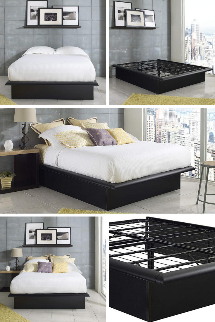 The Heavy Duty Minimalist Bed Frame Amazon Com Ad Eliminate Creeks