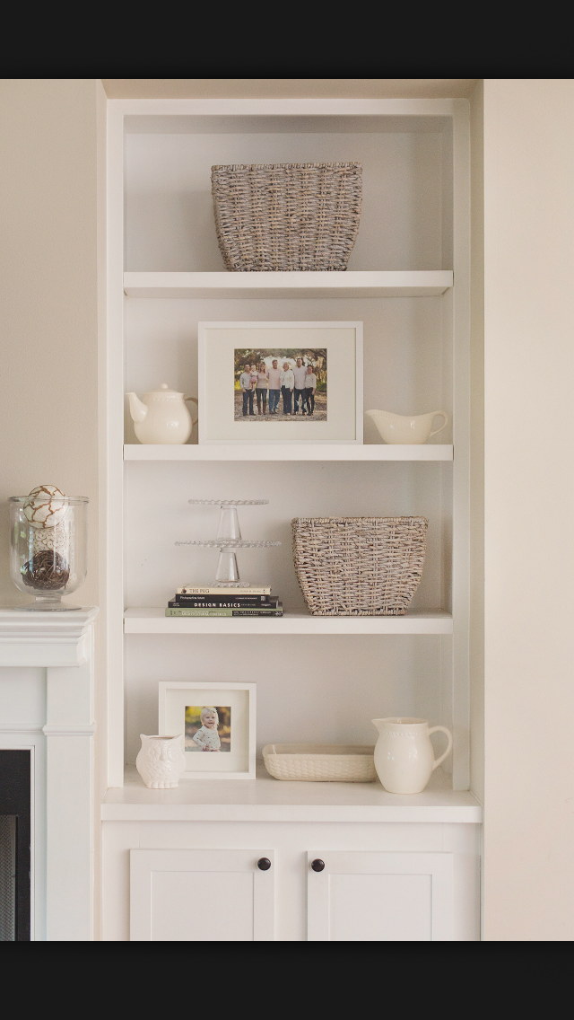Baskets For Texture With Images Living Room Shelves Family
