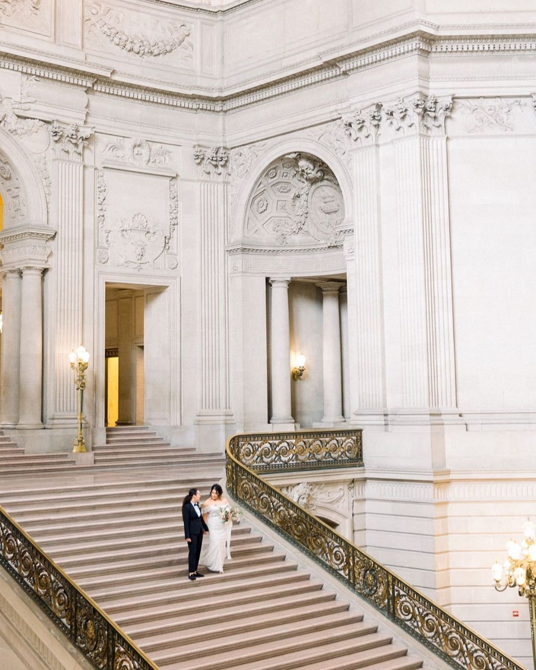 The Always Beautiful SF City Hall For