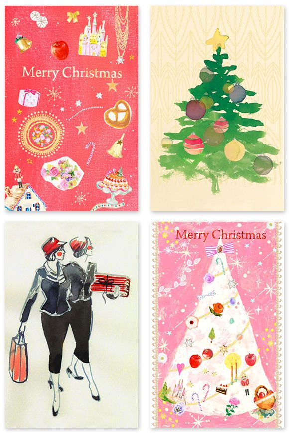Free Printable Artist Designed Holiday Cards - Home - Creature Comforts - daily inspiration, style, diy projects + freebies