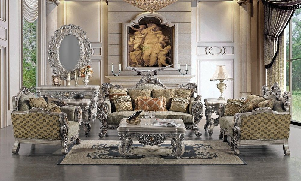Borguese Victorian Style Sofa Collection Living Room Furniture S Los Angeles 1249