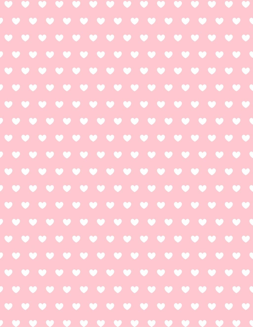 These Free Printable Valentine Hearts Scrapbook Paper Designs Are Perfect For Valentine S Day Or