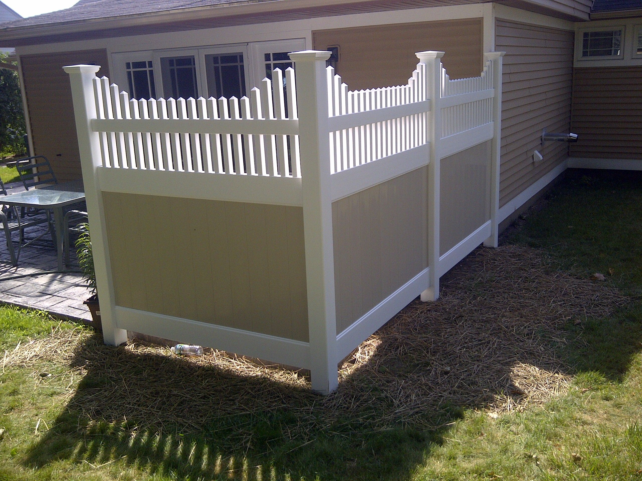 Patio Privacy Fence Hot Tub Privacy Fence Ideas Privacy Fence By Home Sweet Home