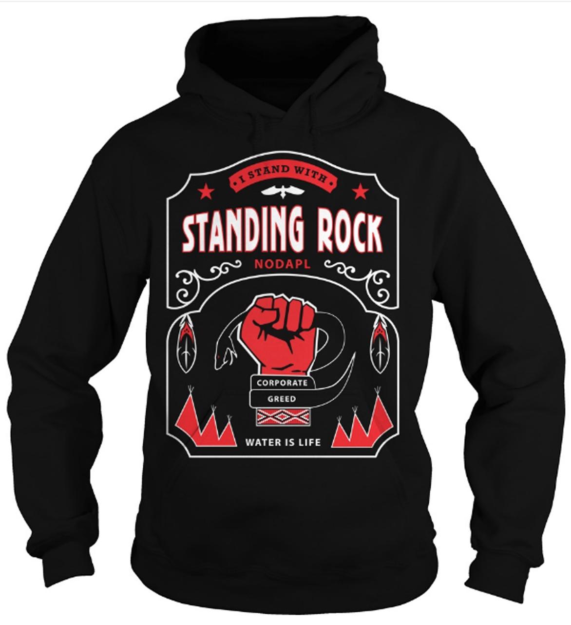 Standing Rock Hoodie Design