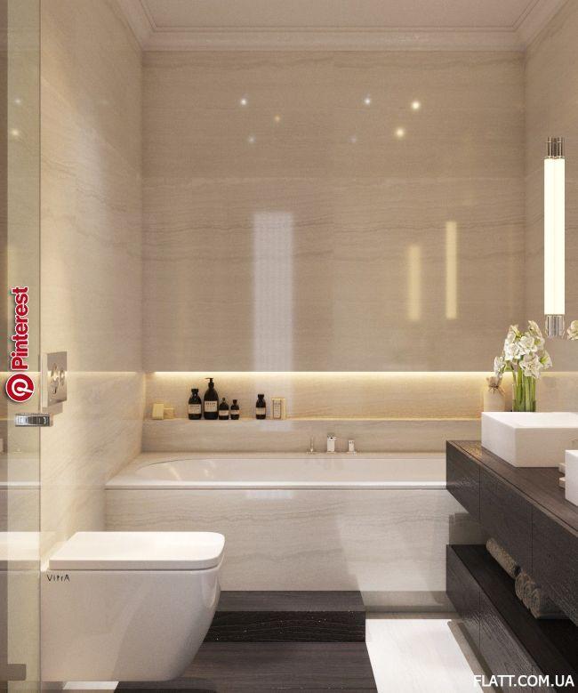 Wandnische Badewanne Dekoration Badezimmer Bathroom