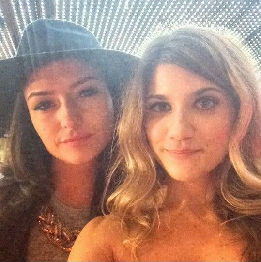 Natasha Negovanlis and Elise Bauman