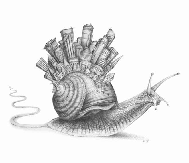 snail town