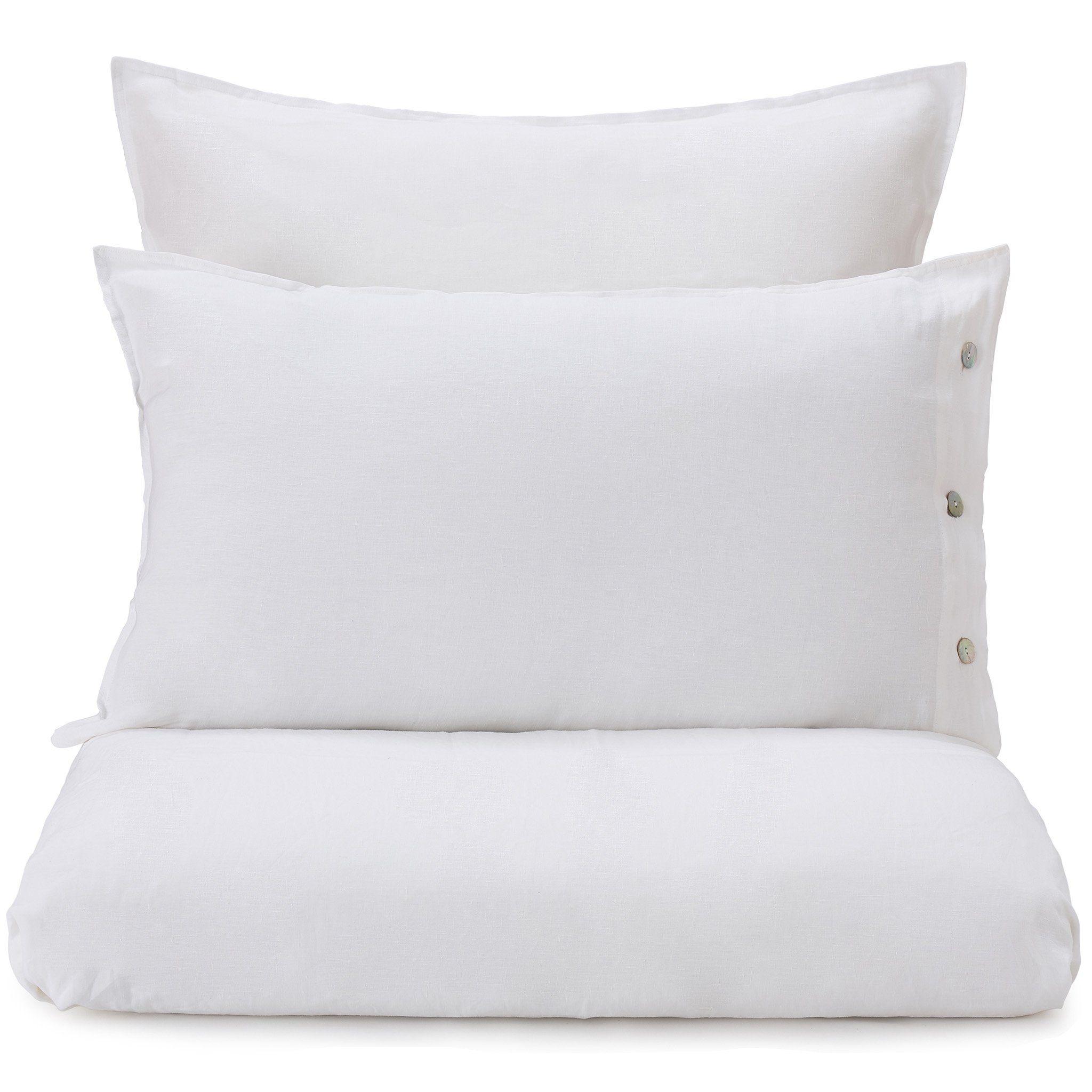 Leinen Bettwasche Bellvis Weiss Bettwasche Schone Bettwasche