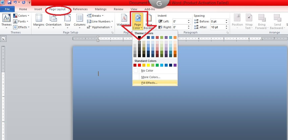 Tips To Print Background Color In Microsoft Word