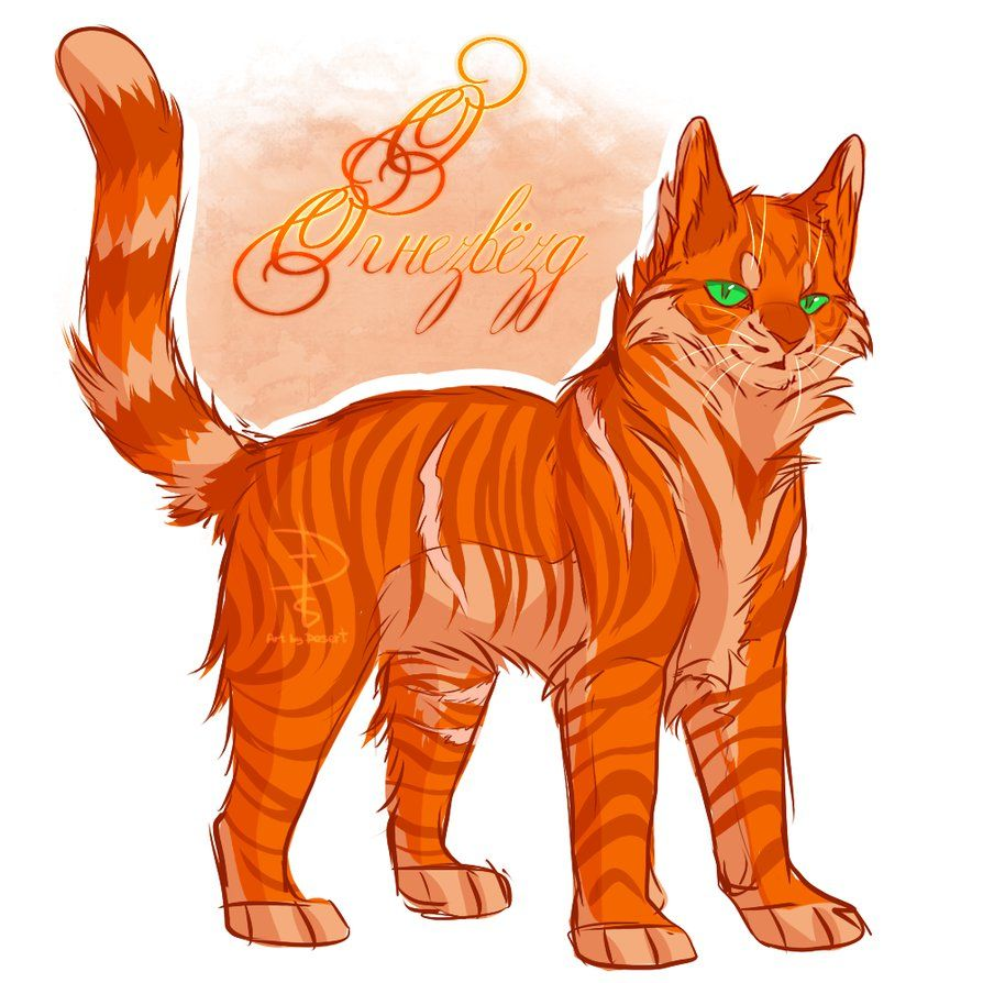 Firestar by Fox-Desert | Warrior Cats | Pinterest ...