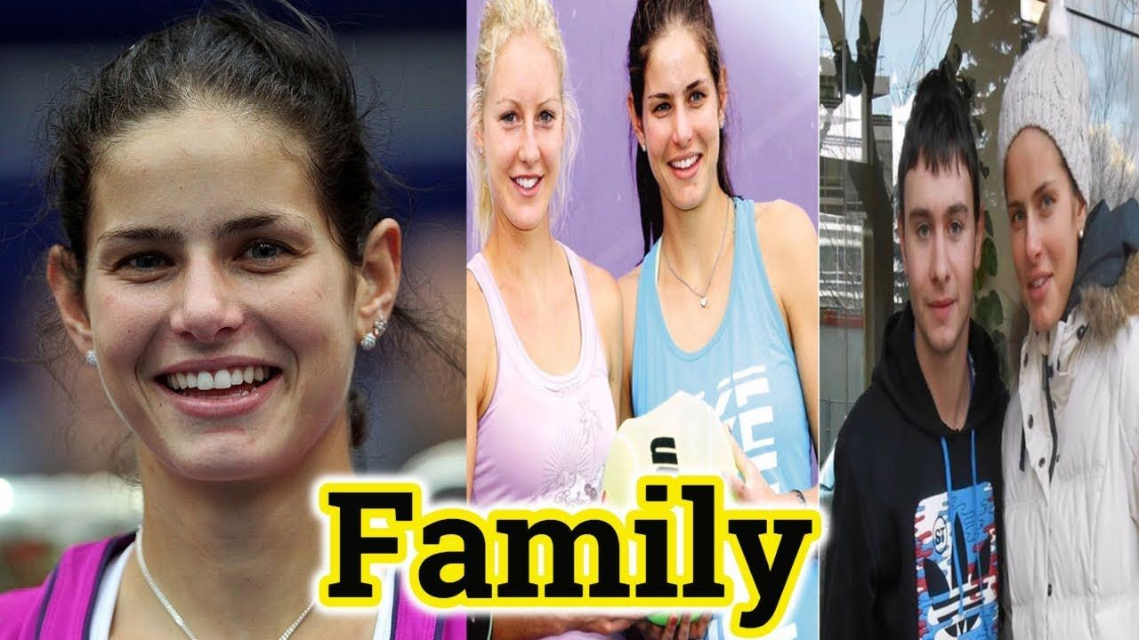 Tennis Player Julia Goerges Family Photos With Sister And Parents