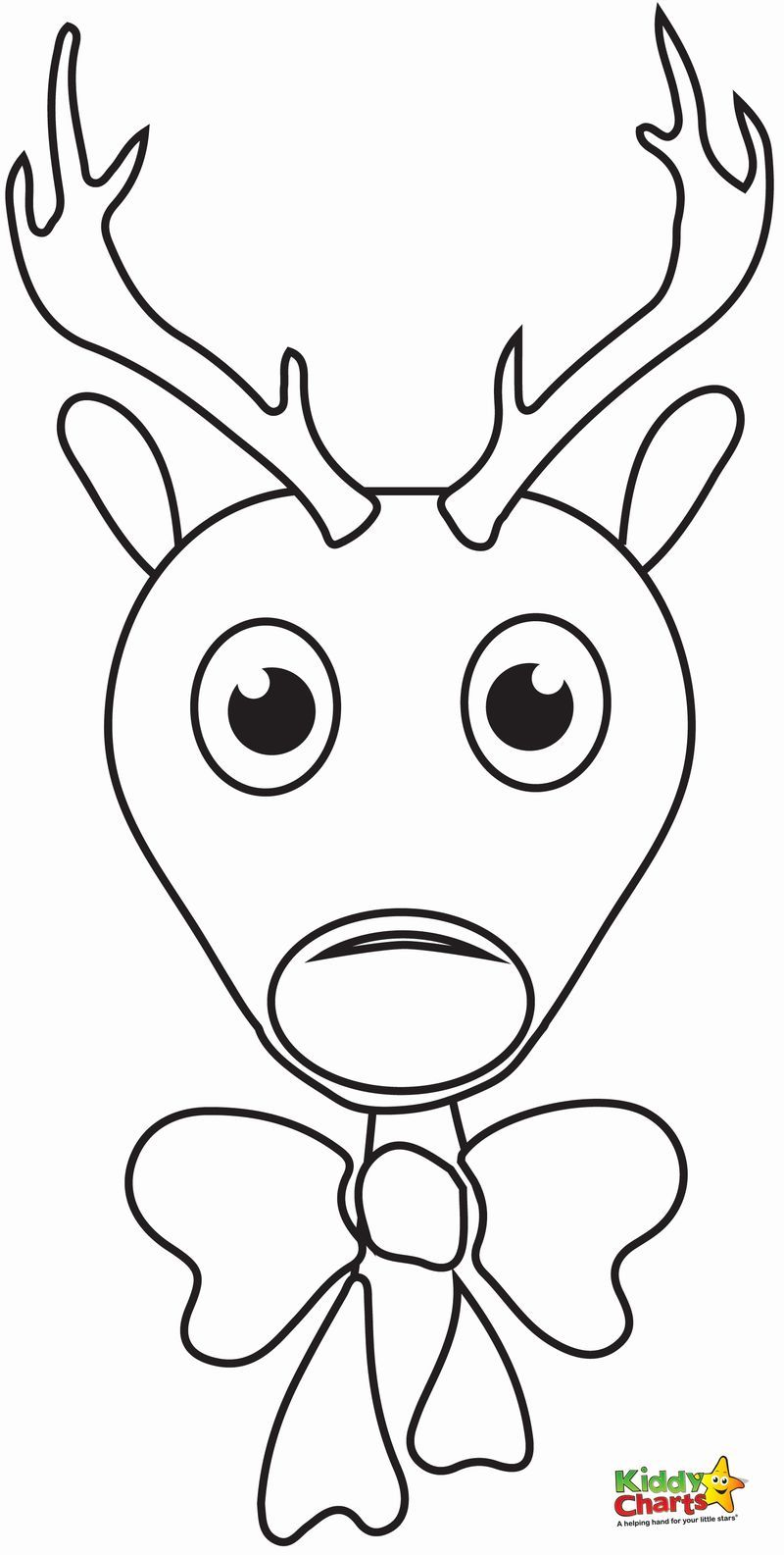 Cool Reindeer Coloring Pages Ideas For Children Rudolph Coloring
