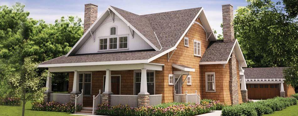 Craftsman style home plans detached garage | Detached Garage ...