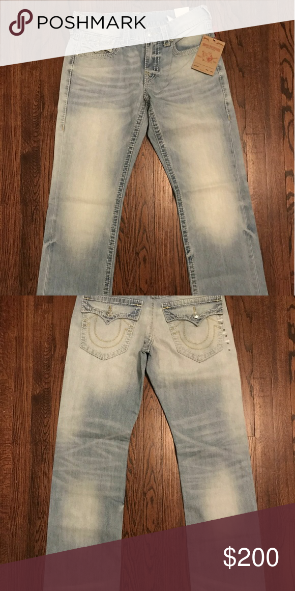 97d6bf2b9 True Religion Jeans Size 32 BRAND NEW Never ended up wearing them so im  selling them now. Size 32 Original price  249.99 True Religion Jeans  Straight
