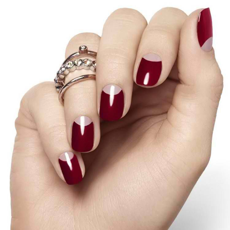 diseño de uñas rojo elegante   uñas   Pinterest   Diseños de uñas ...