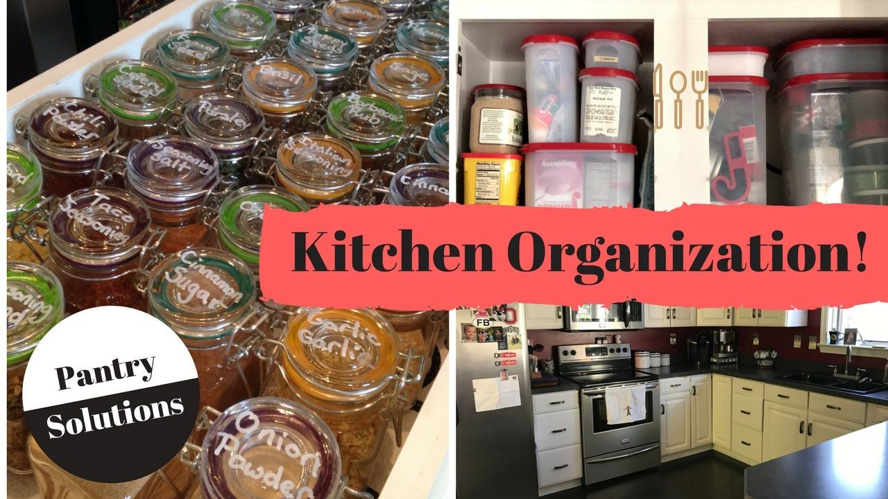 Kitchen Organization Ideas Cupboard Storage Tips And Hacks