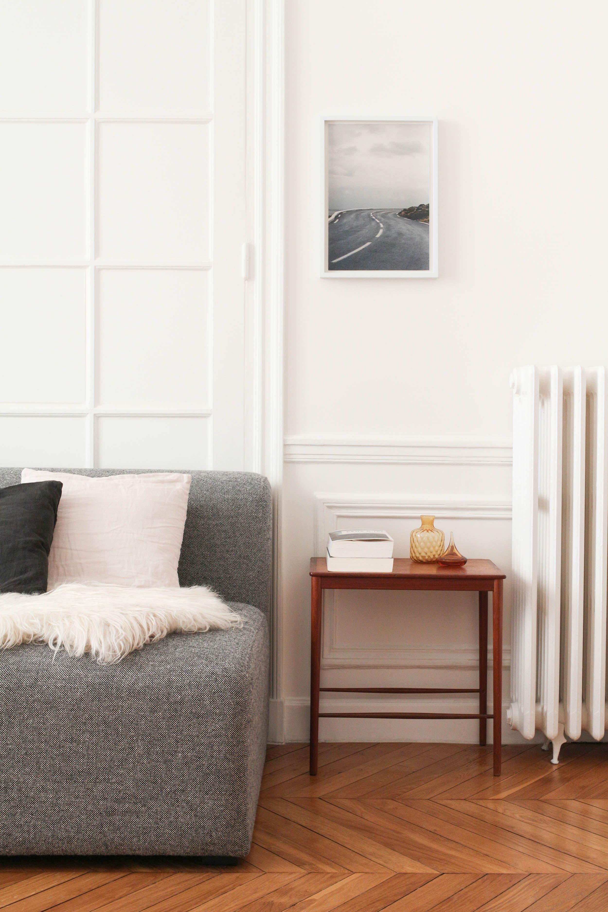 Rénovation appartement haussmannien minimaliste à Paris - Heju ...